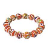 Mel's Bracelet with Orange Beads – Leukemia and Kidney Cancer